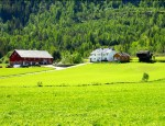 Enger farm in Nedre Eggedal, Norway